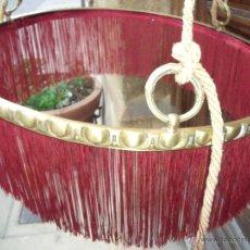 Antigüedades: GRAN LAMPARA BRONCE DORADO AL MERCURIO 60CM DIAMETRO. Lote 54046795