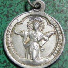 Antigüedades: MEDALLA - SAN PANCRACIO - MIDE SIN ANILLA 2 CM. Lote 54051596