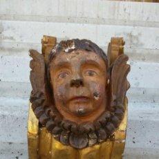 Antigüedades: ANGELOTE ANTIGUO DE RETABLO,ES MUY BONITO.SIGLO XVIII APROX. Lote 54053507