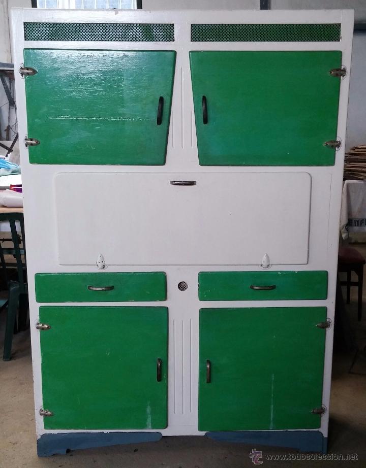antiguo armario de cocina - Comprar Armarios Antiguos en ...