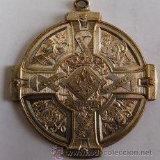 Antigüedades: ANTIGUA MEDALLA - VIR SAPIENS IMPLEBITUR BENEDICTIONIBUS - ECCL.XXXVII-27 5X4 . BUEN ESTADO. Lote 54060026