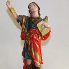 Antigüedades: FIGURA RELIGIOSA EN ESCAYOLA. Lote 54061686
