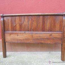 Antigüedades: ANTIGUOS PIES DE CAMA PARA CABECERO. NOGAL. RESTAURADO. 120X90CM. Lote 54062812