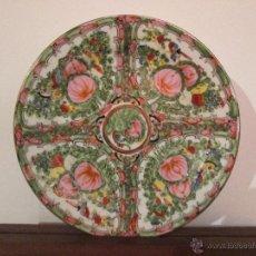 Antigüedades: PLATO JAPONES PIMNTADO A MANO CON MARCA VEAN FOTOGRAFIAS Y DESCRIPCION. Lote 54063847