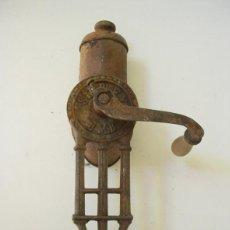 Antigüedades: RALLADOR MANUAL DE COCINA EN METAL Y MADERA, SIMPLEX. Lote 54064301