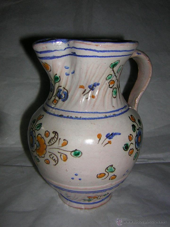 Antigüedades: JARRA DE TALAVERA SELLADA NIVEIRO, S. XIX / XX - Foto 2 - 54064872