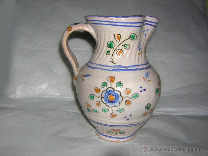 Antigüedades: JARRA DE TALAVERA SELLADA NIVEIRO, S. XIX / XX - Foto 4 - 54064872