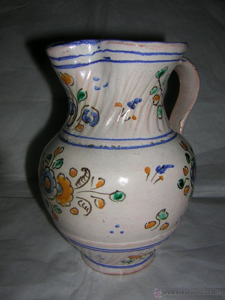 Antigüedades: JARRA DE TALAVERA SELLADA NIVEIRO, S. XIX / XX - Foto 7 - 54064872