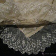 Antigüedades: ANTIGUA PIEZA DE ENCAJE S.XIX. Lote 54067130