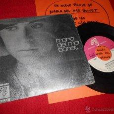 Discos de vinilo: MARIA DEL MAR BONET EM DIUS QUE EL NOSTRE AMOR/CANÇO PER UNA BONA MORT 7 SINGLE 1973 PROMO CATALA. Lote 54068719