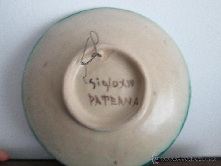 Antigüedades: PLATO DE PATERNA CON MOTIVOS SIGLO XIV VEAN FOTOGRAFIAS Y DESCRIPCION - Foto 2 - 54070769