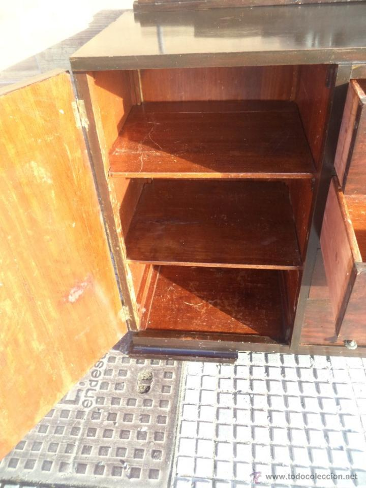 Antigüedades: mueble aparador ardeco - Foto 6 - 54073572