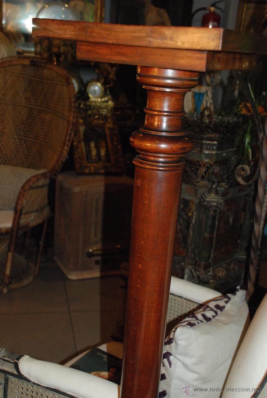 Antigüedades: ESPECTACULAR PAREJA DE COLUMNAS DE MADERA - Foto 7 - 54081285