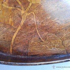 Antigüedades: EMILE GALLE,BANDEJA ORIGINAL FIRMADA. Lote 54092491