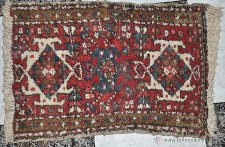 antigua alfombra persa 80 x 50 cm realizada a comprar On alfombras antiguas segunda mano