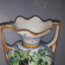 Antigüedades: JARRON CERAMICA TALAVERA. Lote 54099599