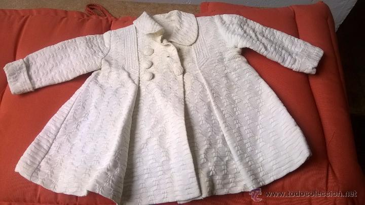 MUY ANTIGUO ABRIGO S.XIX PARA BEBÉ NIÑO-NIÑA O MUÑECA (Antigüedades - Moda y Complementos - Infantil)