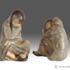 Antigüedades: PAREJA DE ESQUIMALES DE LLADRÓ. Lote 54111232