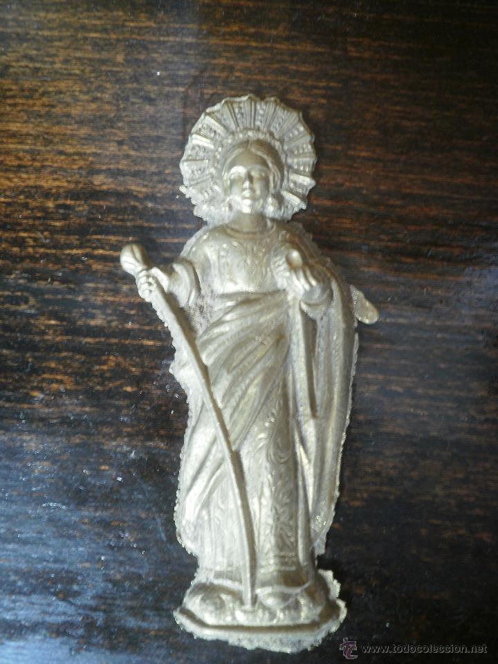 SANTA DE BRONCE (Antigüedades - Religiosas - Varios)