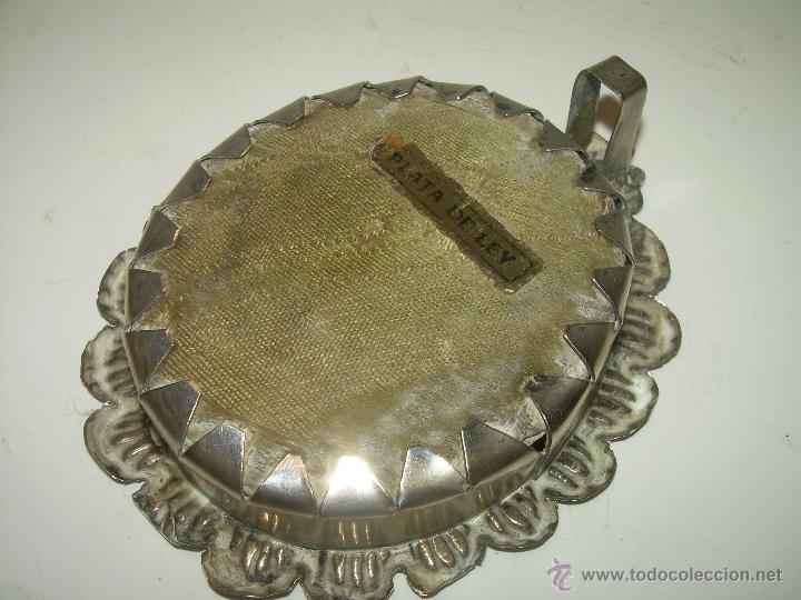 Antigüedades: ANTIGUO RELICARIO DE ....PLATA.....VIRGEN MACARENA. - Foto 4 - 54126050