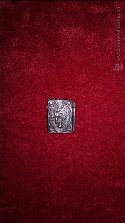 RELIQUIA DE PLATA (Antigüedades - Religiosas - Ornamentos Antiguos)