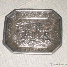 Antigüedades: PEQUEÑO PLATO DE PLATA.. Lote 54146372