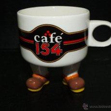 Antigüedades: IMPORTANTE Y ORIGINAL TAZA CAFE 154. Lote 54152059