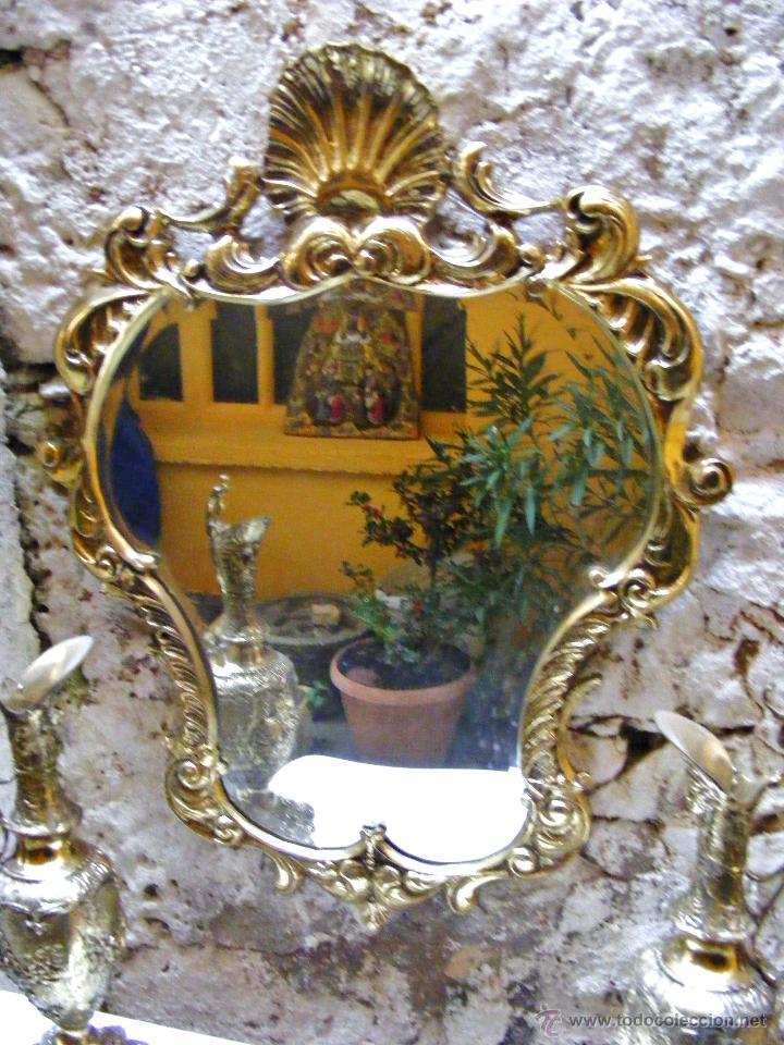 Antigüedades: RECIBIDOR ANTIGUO - BRONCE - Foto 4 - 54165864
