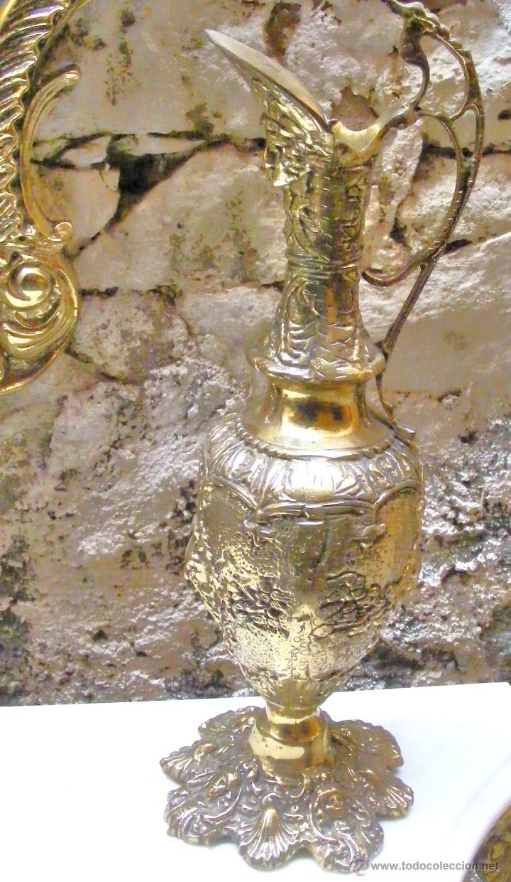 Antigüedades: RECIBIDOR ANTIGUO - BRONCE - Foto 7 - 54165864