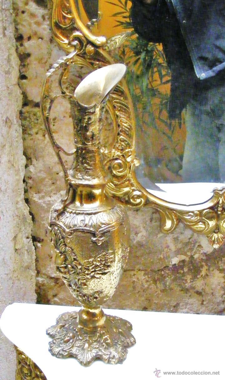 Antigüedades: RECIBIDOR ANTIGUO - BRONCE - Foto 8 - 54165864