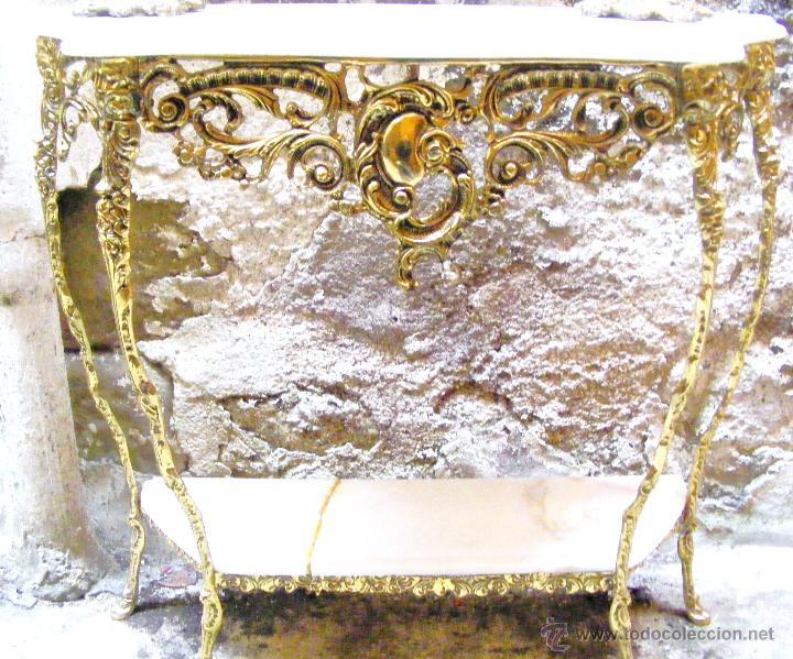 Antigüedades: RECIBIDOR ANTIGUO - BRONCE - Foto 9 - 54165864