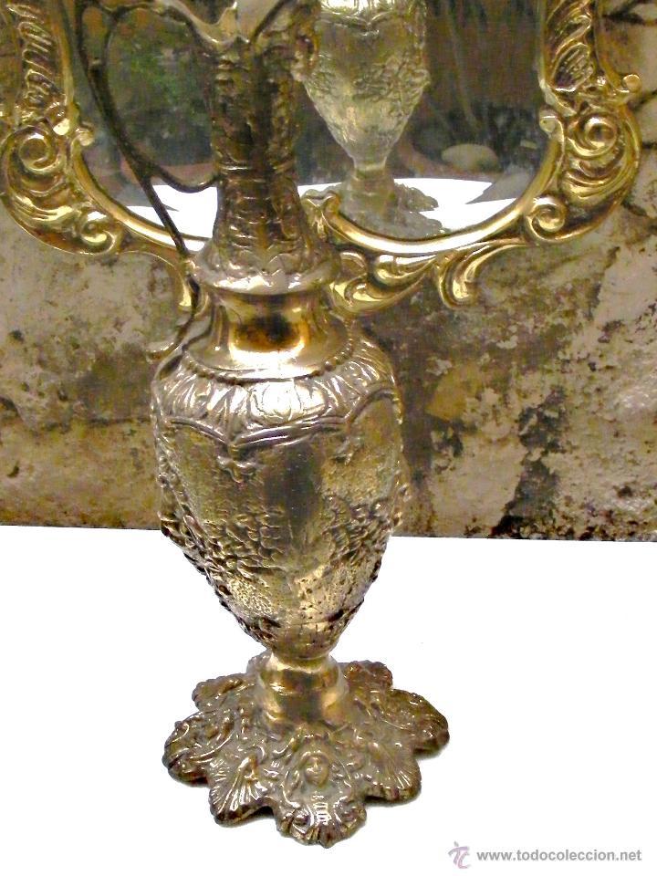 Antigüedades: RECIBIDOR ANTIGUO - BRONCE - Foto 10 - 54165864