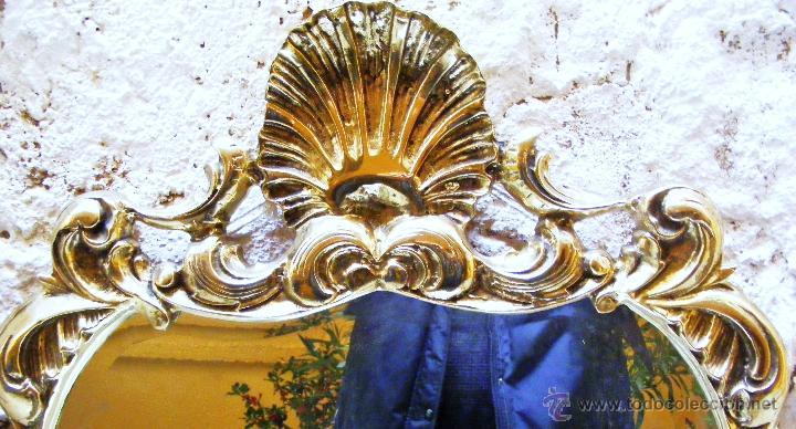 Antigüedades: RECIBIDOR ANTIGUO - BRONCE - Foto 12 - 54165864