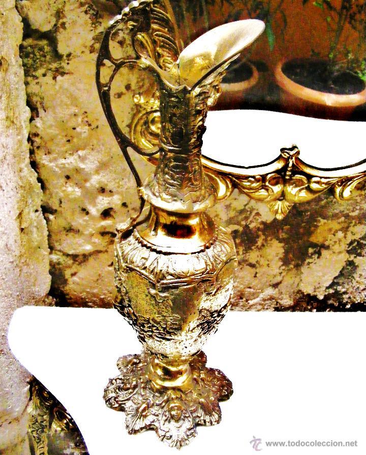 Antigüedades: RECIBIDOR ANTIGUO - BRONCE - Foto 13 - 54165864
