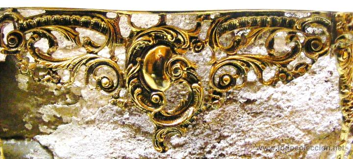 Antigüedades: RECIBIDOR ANTIGUO - BRONCE - Foto 14 - 54165864