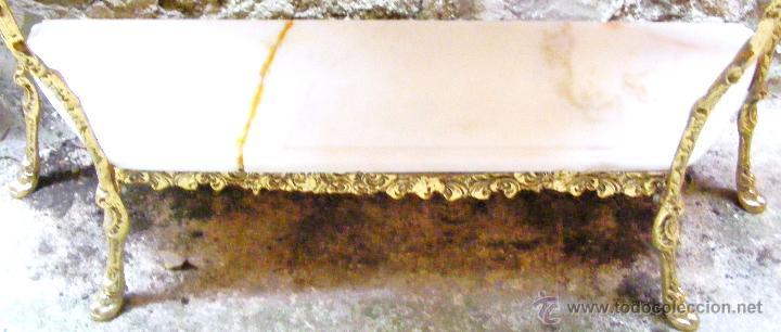 Antigüedades: RECIBIDOR ANTIGUO - BRONCE - Foto 15 - 54165864