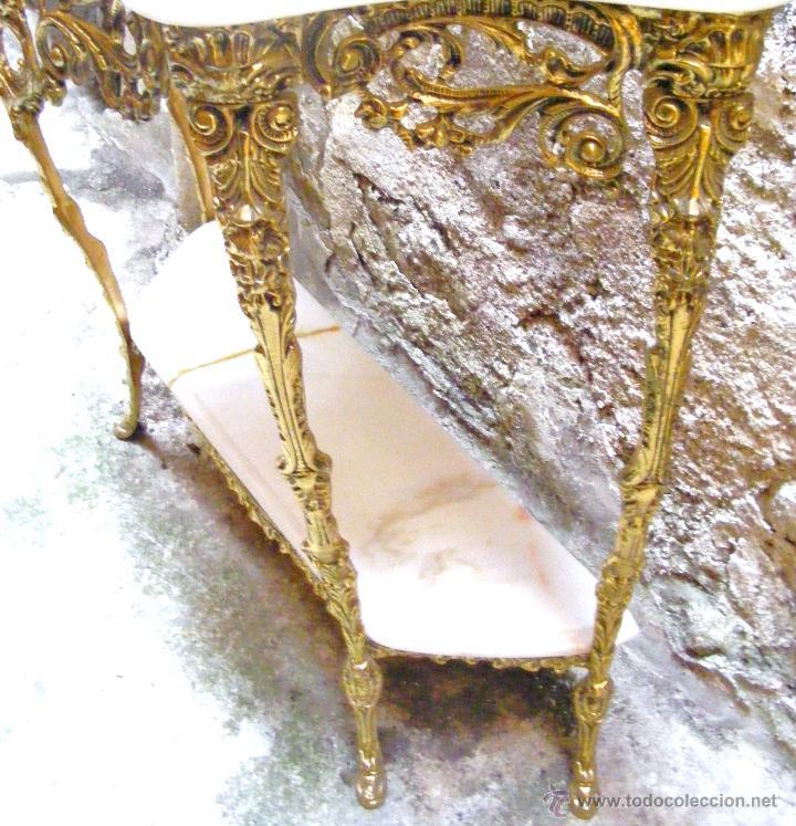 Antigüedades: RECIBIDOR ANTIGUO - BRONCE - Foto 16 - 54165864