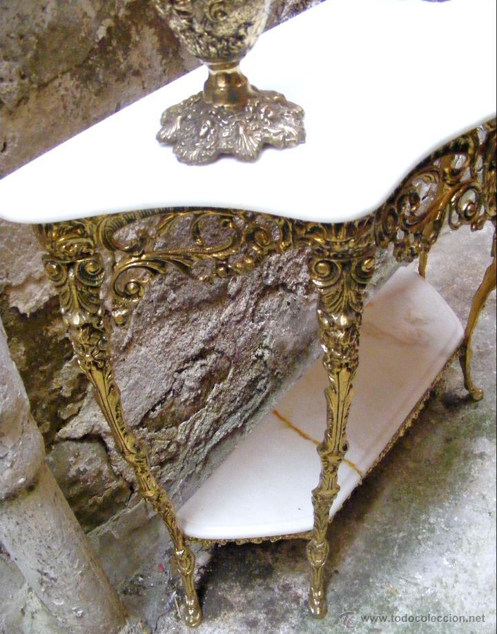 Antigüedades: RECIBIDOR ANTIGUO - BRONCE - Foto 17 - 54165864