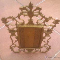 Antigüedades: ANTIGUO MARCO PORTAFOTOS DE BRONCE. Lote 60370979