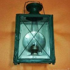 Antigüedades: ANTIGUO FAROL - MARQUESA - RENFE. Lote 54169544