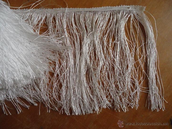 Antigüedades: FLECOS BLANCOS 7 metros - Foto 2 - 139760868
