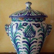 Antigüedades: ANTIGUA ORZA CERÁMICA FAJALAUZA. Lote 54180304