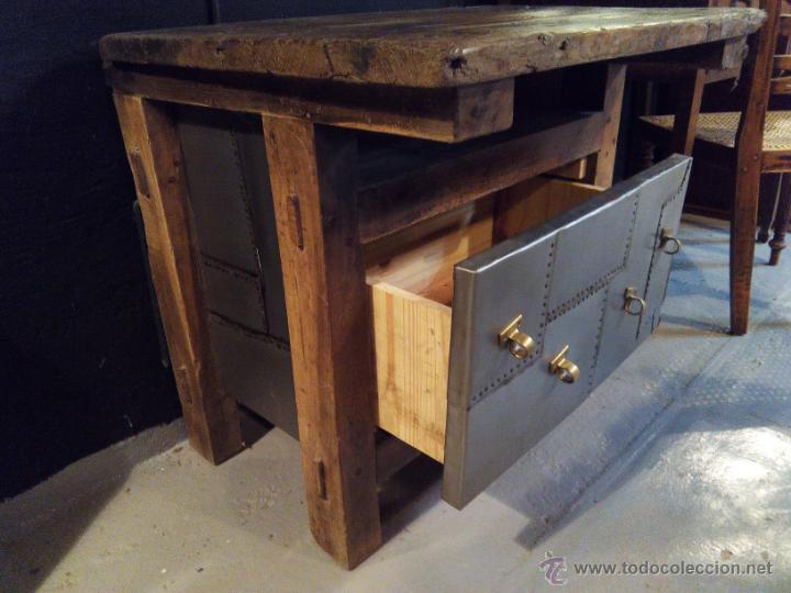 Mesa de carpintero comprar mesas antiguas en for Mesa de carpintero