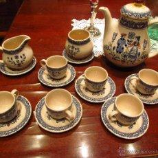 Antigüedades: JUEGO CAFE O TE INGLES. Lote 54209195