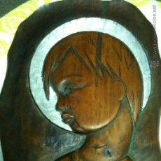 Antigüedades: TALLA DE MADERA RELIGIOSA. Lote 54213773