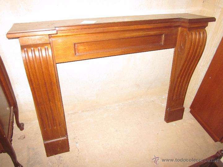 marco decorativo de chimenea en madera - Comprar Marcos Antiguos de ...