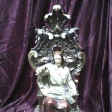Antigüedades: IMAGEN SAGRADO CORAZÓN. Lote 54229157