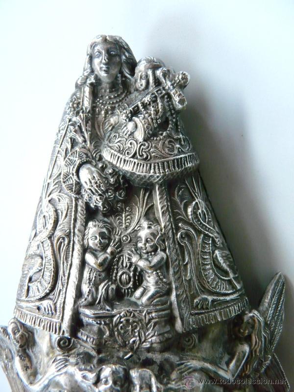 Antigüedades: NUESTRA SEÑORA LA VIRGEN DE LOS DESAMPARADOS PATRONA DE VALENCIA - Foto 10 - 54248297