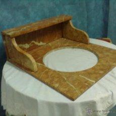Antigüedades: LAVABO MARMOL ROSA. Lote 54249841