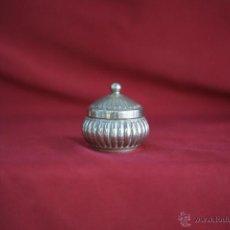 Antigüedades: CAJA EN PLATA LEY CON CONTRASTE. Lote 54249883